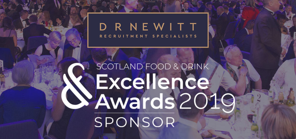 D R Newitt is proud to support the Scotland Food & Drink Excellence Awards as a sponsor