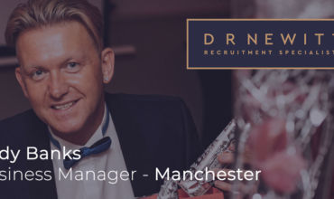 Thoughts from Andy Banks, Business Manager – D R Newitt Manchester thumbnail