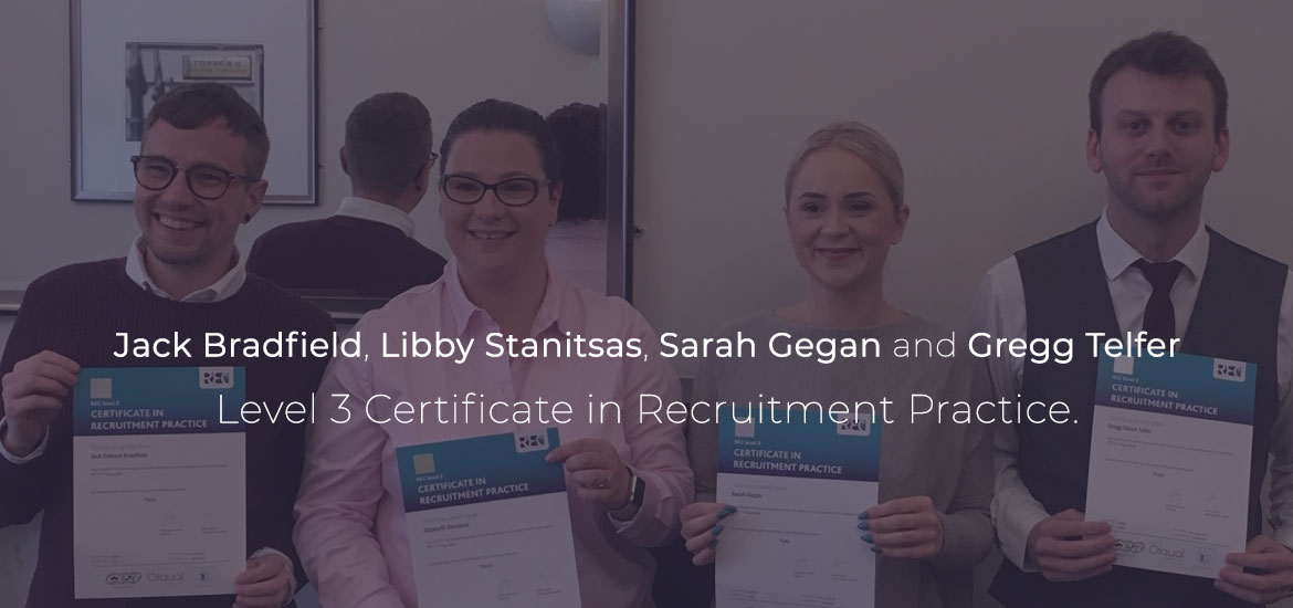 Level 3 Certificate in Recruitment Practice – FMCG recruitment consultants